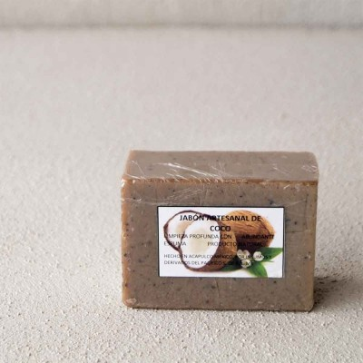 Cokissimo Coconut And Coffee Exfoliating Soap