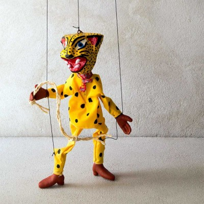 Jaguar Warrior Marionette