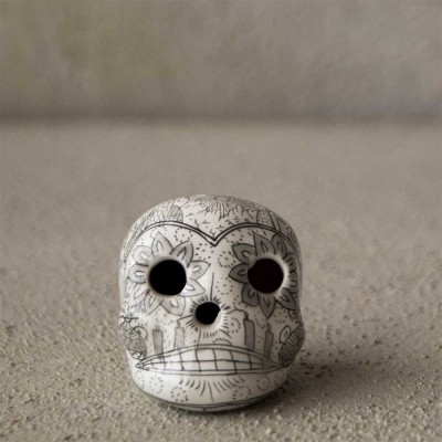 Wedding Skull Pendat