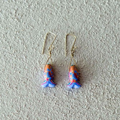 Shell Clay Earrings